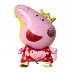 Globo Metálico Peppa Pig  Cotillón Peppa Pig