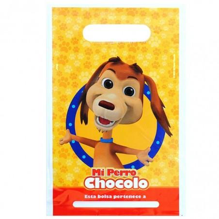 Pack Cumpleaños Perro Chocolo x 18  Cotillón Perro Chocolo