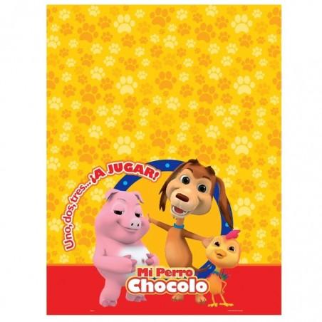 Pack Cumpleaños Perro Chocolo x 24  Cotillón Perro Chocolo