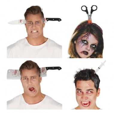 Cintillo Halloween Cuchillos  Cotillón y Disfraces Halloween