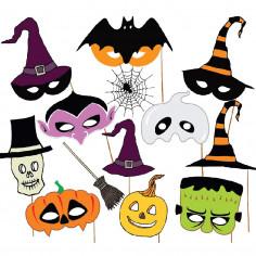 Photo Props Halloween 13 un  Decoración Halloween