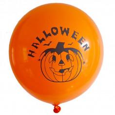 Globos Halloween Calabaza x 6  Decoración Halloween