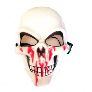 Máscara Esqueleto Sangre  Mascaras Halloween