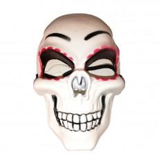 Máscara Esqueleto Día de los Muertos  Mascaras Halloween