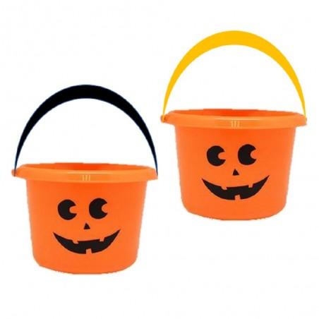 Balde Calabaza Halloween  Decoración Halloween