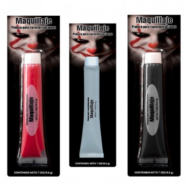 Maquillaje Colores 20 Gramos  Accesorios Cotillón