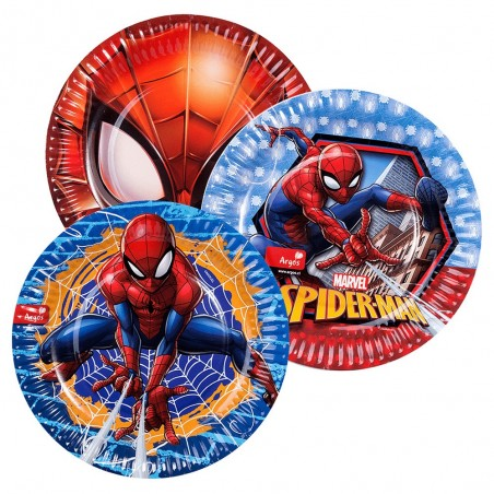 Pack 30 Personas Cotillón Spiderman  Cotillón Spidermann