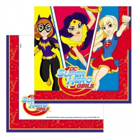 Pack 18 Personas Super Hero Girls  Cotillón Super Hero Girls