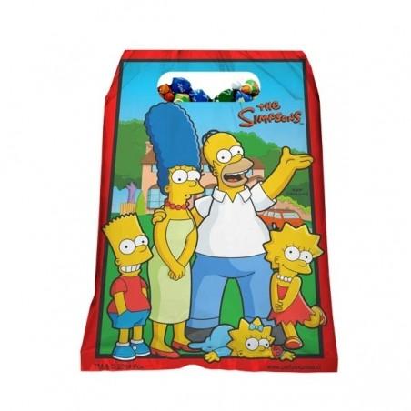 Pack Cumpleaños 12 Personas Los Simpsons  Cotillón Simpsons