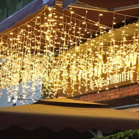 Guirnalda Cascada Led  Decoración Cumpleaños y Fiestas