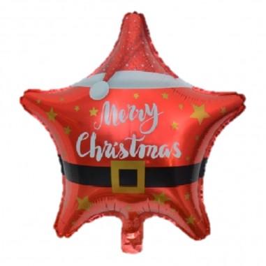 Globo Estrella Navidad  Decoración y Cotillón Navidad